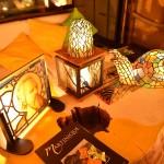 灯りと彩りのステンドグラス展
