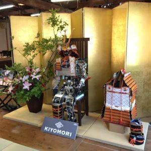 京都でロボット、テムザックロボット展