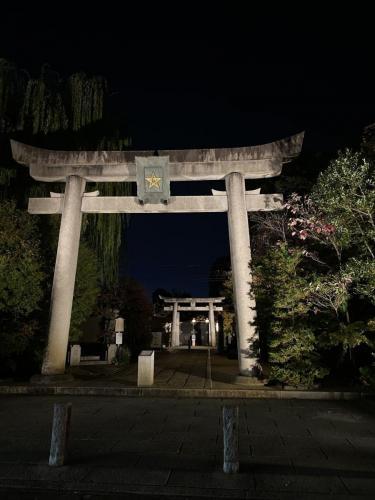 夜の晴明神社