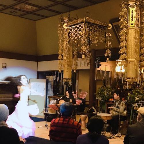 本昌寺 アラビアの踊りと音楽の夜
