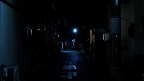 夜の六軒町通り