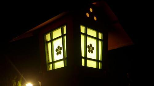 平野神社の灯篭